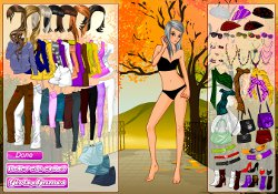 Giochi Di Giochi Per Ragazze Autumn In The Park Dress Up