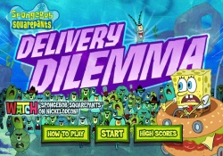 gioca a SpongeBob - Delivery Dilemma