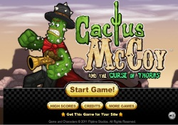 Giochi Di Avventura Cactus McCoy And The Curse Of  Thorns