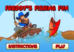 gioca a Freddy's Fishing Fun