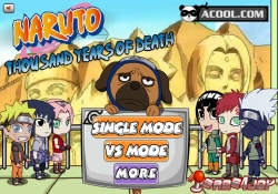 Giochi Di Azione Naruto - Thousand Years Of Death