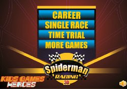Giochi Di Sport Spiderman Racing 3D