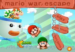 gioca a Mario War Escape