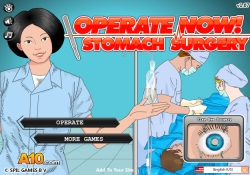 Giochi Di Abilità Operate Now: Stomach Surgery