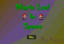 Giochi Di Giochi Super Mario Mario Lost In Space