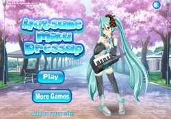 Giochi Di Giochi Per Ragazze Hatsune Miku Dress Up