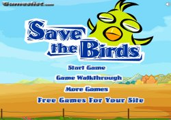 Giochi Di Abilità Save The Birds