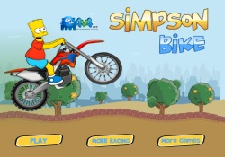 Giochi Di Abilità Bart On Bike 2