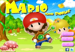 gioca a Mario Bubble  Shooter