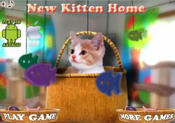Giochi Di Puzzle New Kitten Home