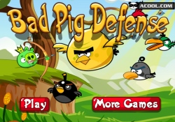 gioca a Bad Pig Defense