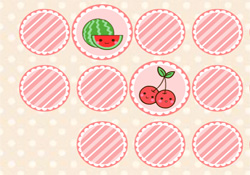 Giochi Di Puzzle Memory Game Fruit