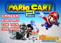 gioca a Mario Cart 2