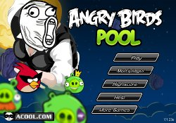 gioca a Angry Birds Pool