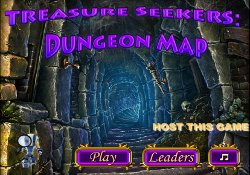Giochi Di Puzzle Treasure Seekers: Dungeon Map