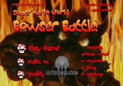 Giochi Di Giochi Super Mario Super Mario World Bowser Battle