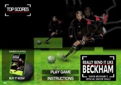 Giochi Di Sport Really Bend It Like Beckham