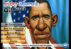 Giochi Di Puzzle Super Obama's Oil Puzzle