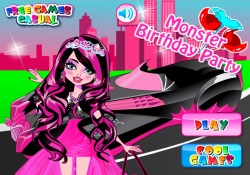 Giochi Di Giochi Per Ragazze Monster Birthday Party