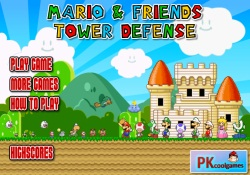 Giochi Di Giochi Super Mario Mario And Friends Tower Defense