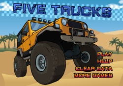 Giochi Di Sport Five Trucks