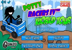 gioca a Potty Racers 4
