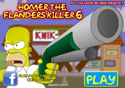 gioca a Homer The Flanders Killer 6
