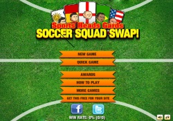 Giochi Di Sport Sports Heads - Cards Squad Swap