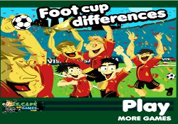 gioca a Foot Cup Differences