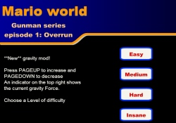 gioca a Mario World: Overrun