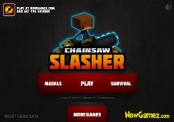 gioca a Chainsaw Slasher