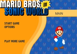 Giochi Di Giochi Super Mario Mario Bros in Sonic World