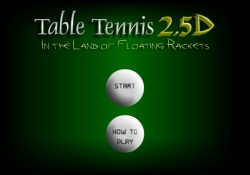Giochi Di Abilità Table Tennis 2.5 D