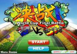 Giochi Di Sport Calcio - World Cup Final Battle