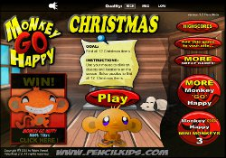 Giochi Di Abilità Monkey Go Happy Christmas