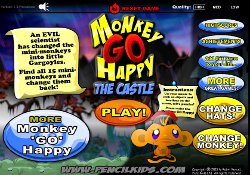 Giochi Di Avventura Monkey Go Happy: The Castle
