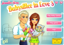 Giochi Di Abilità Jennifer Rose - Babysitter in Love 3