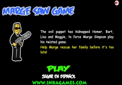 Giochi Di Avventura Marge Saw Game