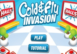 Giochi Di Azione Cold And Flu Invasion