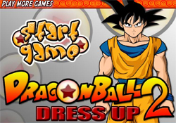 gioca a Dragon Ball Dress Up 2