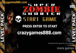 Giochi Di Abilità Super Zombie Shooter Level Pack