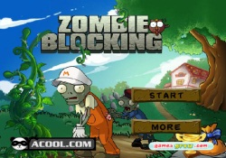 gioca a Zombie Blocking