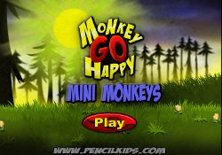 Giochi Di Avventura Monkey Go Happy: Mini Monkeys