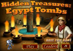 Giochi Di Puzzle Hidden Treasures Egypt Tombs