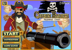 Giochi Di Avventura Captain Black's Treasure Chest