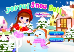 gioca a Joyful Snow Doll